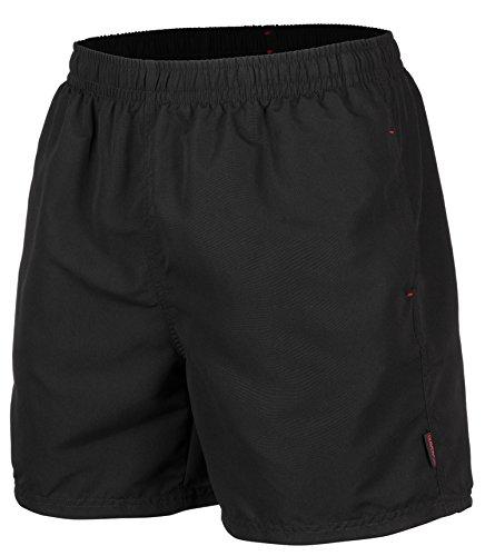 Herren Badeshort, 5013.F black, Gr. M / Badehose / Badeshorts / Beach-Shorts / Bermuda-Shorts / Freizeit-Hose
