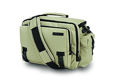 Pacsafe Camsafe Z15 Anti-Theft Camera and Tablet Shoulder Bag, Slate Green