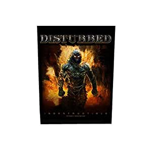 Ecusson Disturbed Motif: Indestructible