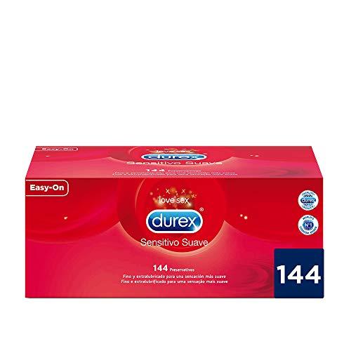 Durex Preservativos Ultrafinos Sensitivo Suave - 144 Unidades