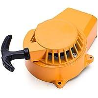 fridaymonga Arranque De Aleación, Interruptor De Arranque De Aleación con Volante Y Pernos De Montaje para 47cc 49cc Mini Scooter Dirt ATV Quad Reemplazo Parte