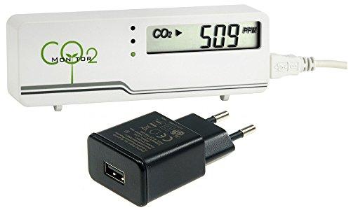 TFA-Dostmann CO2-Messgerät AirCO2ntrol mini weiß incl. Stecker-Netzteil TFA 31.5006.02+