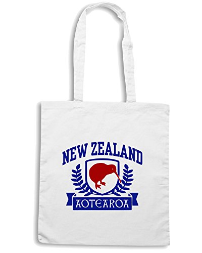 T-Shirtshock - Borsa Shopping TSTEM0069 new zealand Bianco