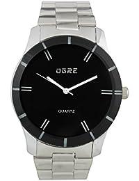 OGRE Analog Black Dial Men's Watch - GY-007 Black