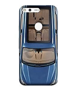 Fuson Designer Back Case Cover for Google Pixel XL (Men Man Drive Four Wheeler Royal Bussiness)