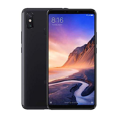 Xiaomi Mi MAX 3 Smartphones 6.9'' Pantalla Completa Pantalla Grande 5500mAh batería de Capacidad Ultra Alta 3.0 Carga rápida, 4GB RAM + 64GB ROM Snapdragon 636 Octa Core Teléfonos móviles (Negro)