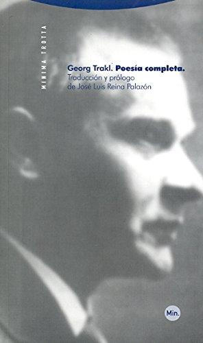 Poesía completa (Minima Trotta) por Georg Trakl