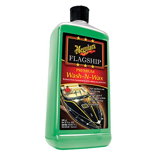 Meguiars Marine Flagship Wash N Wax - 32oz