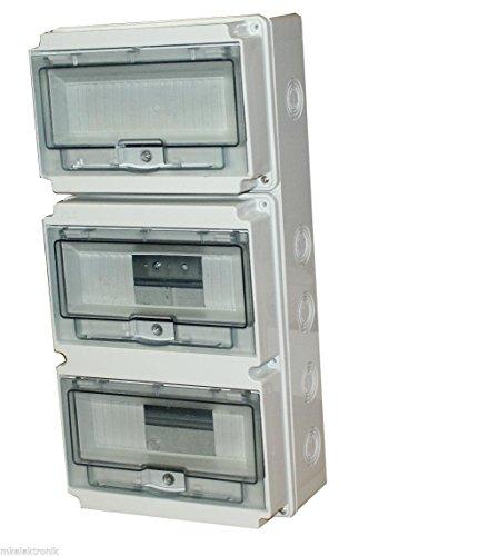 Preisvergleich Produktbild Kleinverteiler Feuchtraum 24 TLE IP65 Unterverteilung Sicherungskasten Verteiler