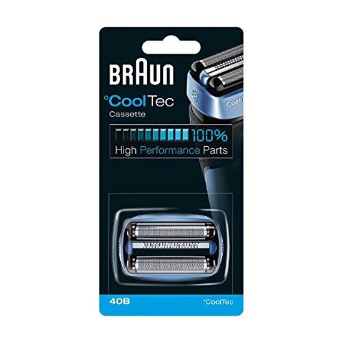 Braun 40B–Cabezal de cuchilla para afeitadoras CoolTec