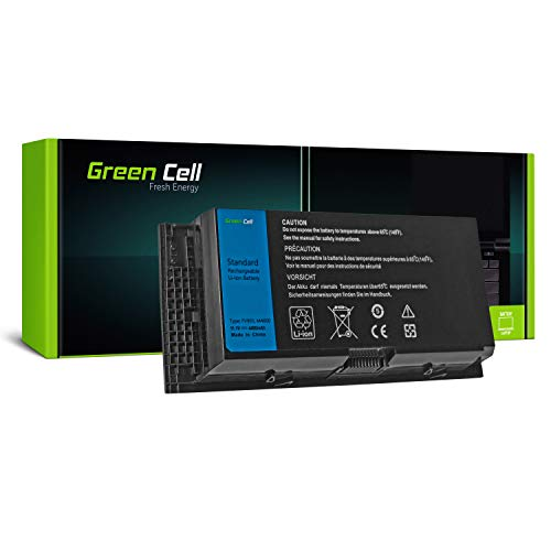 Green Cell Standard Serie FV993 R7PND X57F1 Laptop Akku für Dell Precision M4600 M4700 M4800 M6600 M6700 M6800 (6 Zellen 4400mAh 11.1V Schwarz) (Laptop Akku Dell M6600)