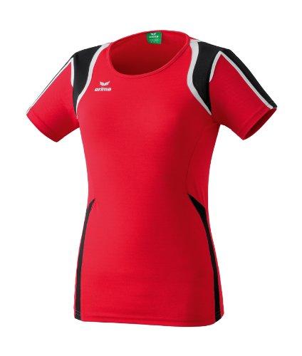 Erima Razor Line T-shirt Femme Rouge/Noir/Blanc