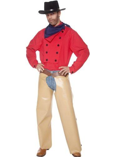 Für Western Kostüm Gunfighter Erwachsene - John Wayne Cowboy CostumeChest 38