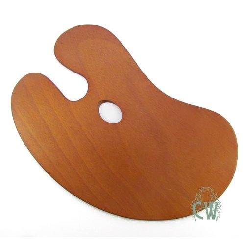 Pack Künstler Holz Nieren Form Palette. Für Öl und Acryl Malerei. -
