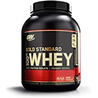 Optimum Nutrition Gold Standard Whey Protein Powder with Glutamine and Amino Acids. Protein Shake by ON - Double Rich Chocolate, 74 Servings, 2.27kg