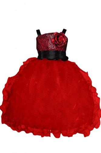 Sunvary - Abito - ragazza Rosso