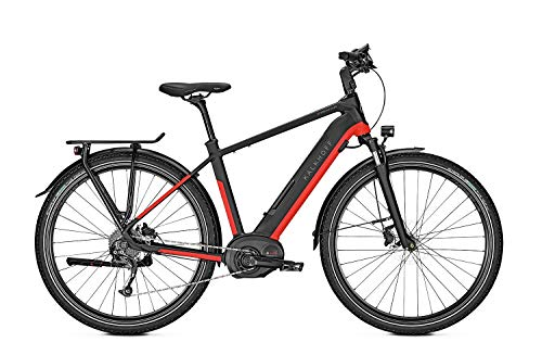 Kalkhoff E-Bike Endeavour 5.B XXL 9G 13,4 Ah Diamant 28\' Freilauf magicblack/firered matt, Rahmenhöhen:48, Farben:magicblack/firered matt