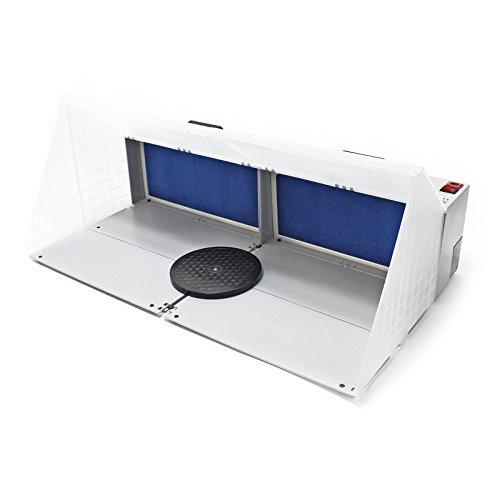 Airbrush Doppel Absauganlage 6 m³/min Filter Farbnebel kombinierbar Zubehör