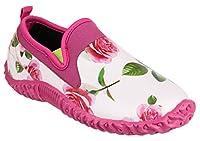 Cotswold Ladies Backdoor Shoe Ladies Rose Rubber Gardening Shoe 6