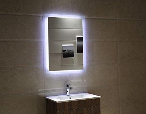 Badspiegel Tageslicht LED – 80 x 60 cm kaltweiß - 2