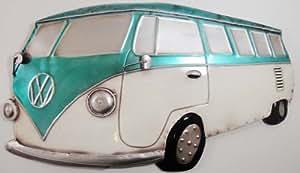 Wall Art - Metal Wall Art - VW Camper Van