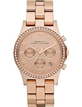 Marc Jacobs Damen-Armbanduhr Chronograph Quarz Edelstahl MBM3118