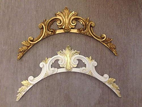 Artissimo Wandrelief-3D-Gold-Wanddeko-Barock-43x22