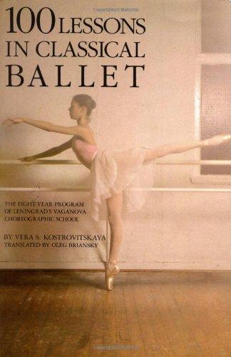 1 lessons in classical ballet livre sur la musique: Eight-year Programme of Leningrad's Vaganova Choreographic School