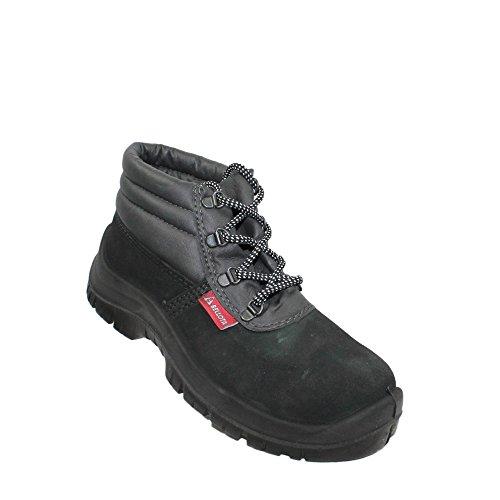 Bellota Afelp S1P SRC Sicherheitsschuhe Arbeitsschuhe Berufsschuhe Businessschuhe Trekkingschuhe hoch Schwarz B-Ware Schwarz