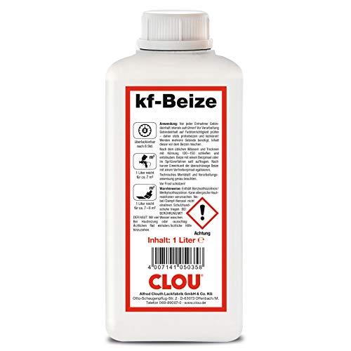 Clou kf - Beize - Nussbaum Mittel 2208-1000 ml / 1 ltr