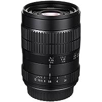 tatsuhiro 60mm f/2.82: 1LD UNC manuell ultra-macro Objektiv für Sony NEX E-Mount, A7R, A7S, A7, A6300, A6000, a5100, A5000, A3000, NEX-7, NEX-6, 5T, NEX-5N, NEX-5R und 3N Digitalkameras (eos-nex)