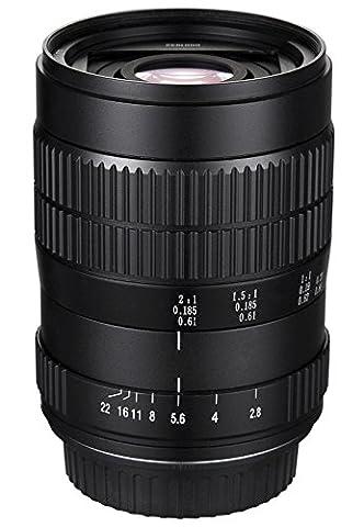 tatsuhiro 60mm f/2.82: 1LD UNC manuell ultra-macro Objektiv für Canon EOS 80D, 70D, 60D, 60Da, 50D, 7D, 6D, 5D, 5DS, 1Ds, T6s, t6i, T6, T5i, T5, T4i, T3i, T3, T2i, T1i und SL1Digital SLR Kameras