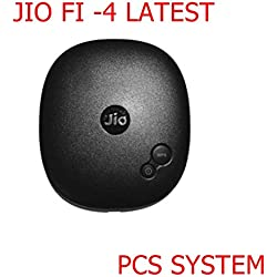 Pcs System Jio 4g Hotspot Works With Jio Postpaid & Prepaid 4G Simcards (Usb Wired +Wifi Option) 1 Yr jio All India waranty (LTE+VOLTE) Supported