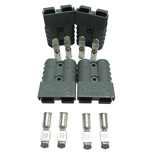 Connettore per batteria da 50 A, connettore da 50 Amp, 600 V, per auto, furgoni, moto