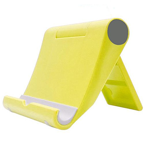 LAAT Soporte Universal Plegable multiángulo para teléfono, iPad Pro, iPad Air, iPad Mini, tabletas (Yellow)