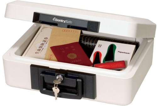 Sentry Safe 1160 Fire-Safe Dokumentenkassette, feuerbeständig, A4