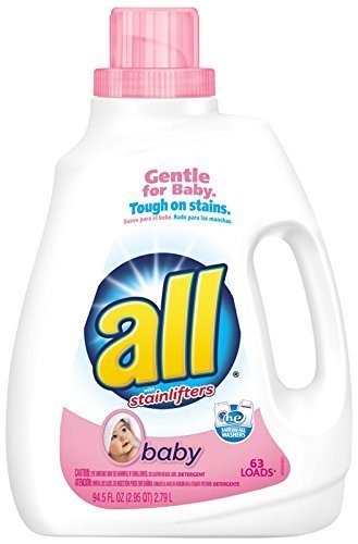 all Liquid Laundry Detergent, Baby - 94.5 oz by all