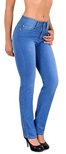 by-tex Damen Jeans Hose Damen Jeanshose Röhrenjeans bis Übergröße Übergrösse Gr. 54, 56, 58 #J25