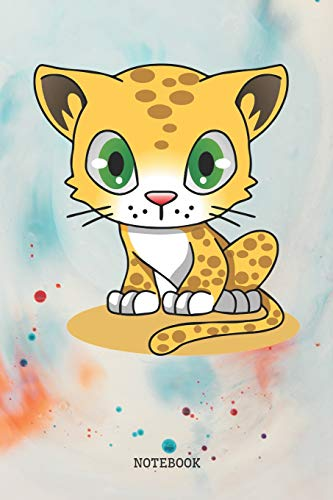 Notebook: Funny Baby Leopard Totem Planner / Organizer / Lined Notebook (6