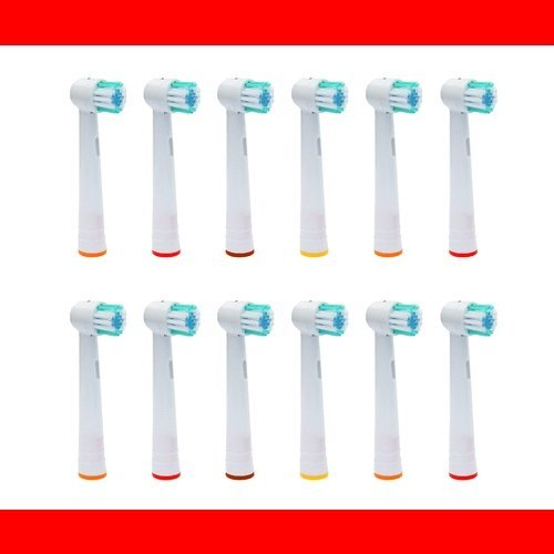 12 Pieza - Recambio para Cepillo eléctrico Compatible y en forma Braun ORAL  B OralB 97ea4d69521d