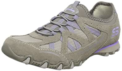 Skechers Bikers Equation 22237, Damen Sneaker, Grau (TPE), EU 36