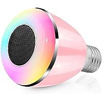 Smart LED Lampadina, Megadream Standard E27/E22bl-08a Multicolor Smart Wireless fashion 2in 1Regolabile 7Colori LED Lampada (Animated Christmas Decor)