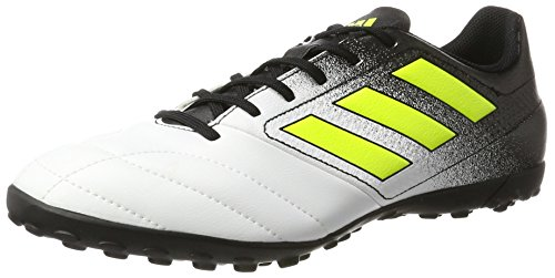 adidas Men    s Ace 74 Tf Footbal Shoes  Multicolor  FTWR White Solar Yellow core Black   11 5 UK 11 5 UK