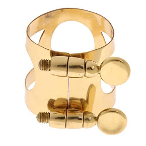 FLAMEER Alt Saxophon Ligatur Golden Saxophon Mundstü Teile