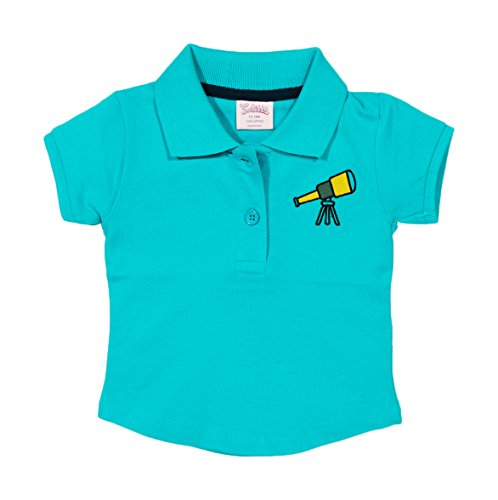 SOLITTLE Baby-Girls' Cotton Polo