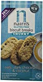 Nairns Chunky Biscuit Break Dark Chocolate and Coconut, 160 g, Pack of 6