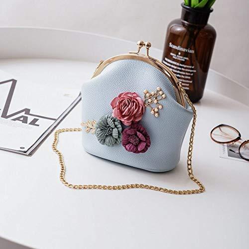 XUZISHAN Meine Damen Handtasche Luxus Handtaschen Frauen Taschen Designer Bolsas Frauen Mode Handtasche Schulter Stereo Blumen Beutel Kleine Tote, 04. 04 Stereo