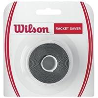 Wilson Cinta de protección para raqueta, Racket Saver, Negro, WRZ522800
