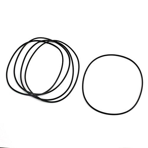 5 pièces Rotary Mécanique Manche En Caoutchouc Flexible huile Joint d'étanchéité O Anneaux 90 x 2 mm