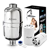 Alysso Shower Filter Chlorine, 2019 Professional Reducing Chlorine Fluoride Heavy Metals Bacteria Eczema